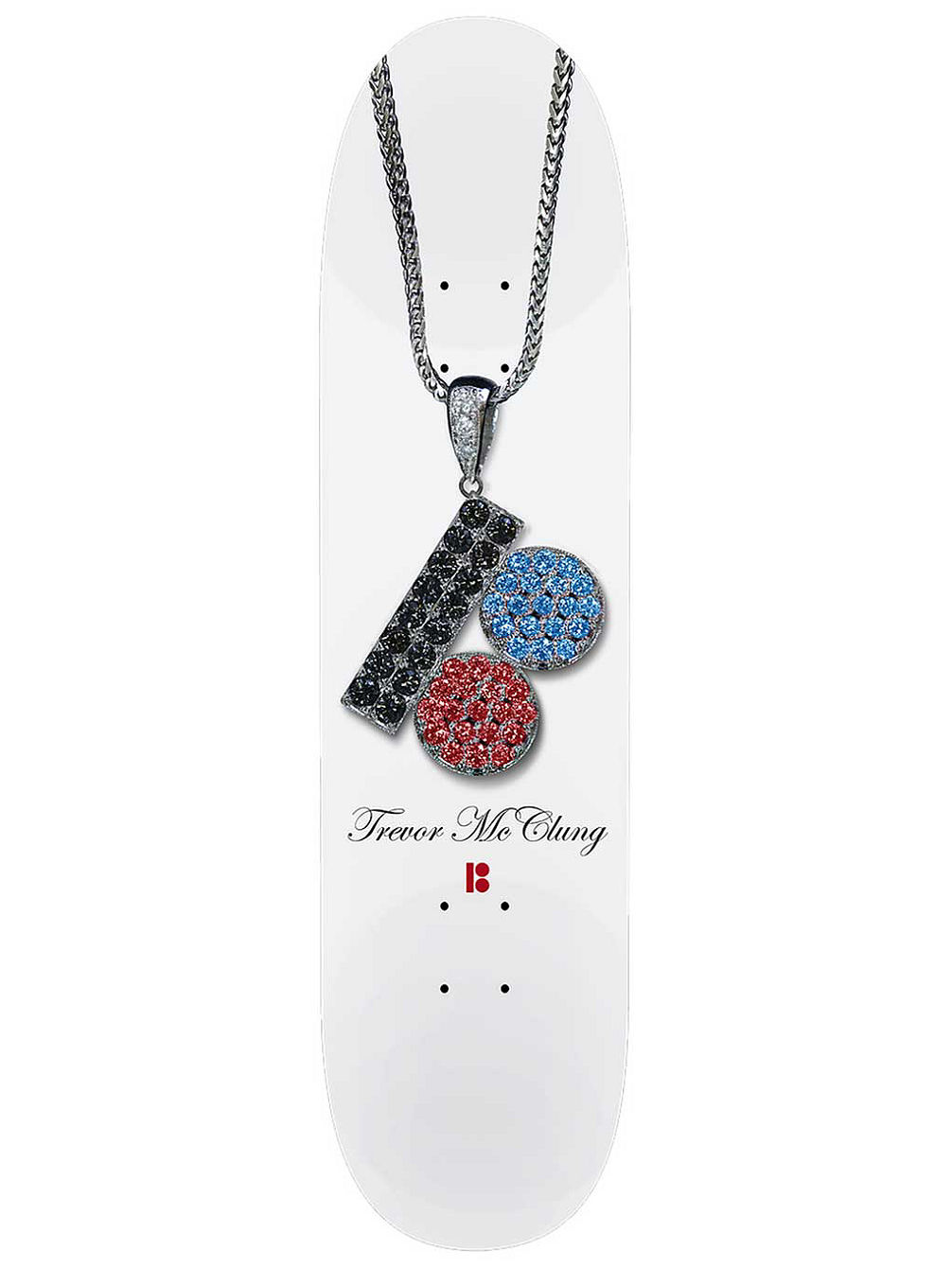 Mcclung Chain 8.0'' Skateboard Deck