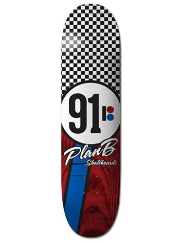 Plan B Team Checker 8.25'' Skateboard Deck