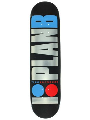 Plan B Team Og Foil 8.0'' Skateboard Deck