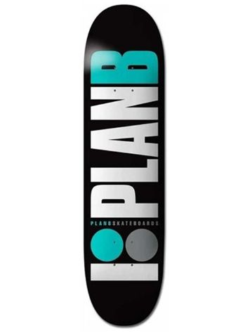 Plan B Team Og Teal 8.125'' Skateboard Deck