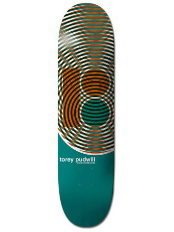 Plan B Pudwill Geometric 8.0'' Skateboard Deck