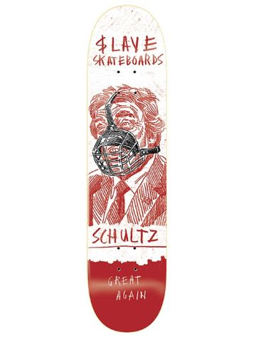 Slave Schultz No Problems 8.375 Skateboard Dec