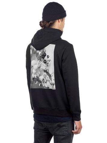 bunth Backprint Zip Hoodie