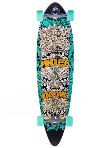 "Mindless Longboards Tribal Rogue IV 9.75"" Skate Completo"