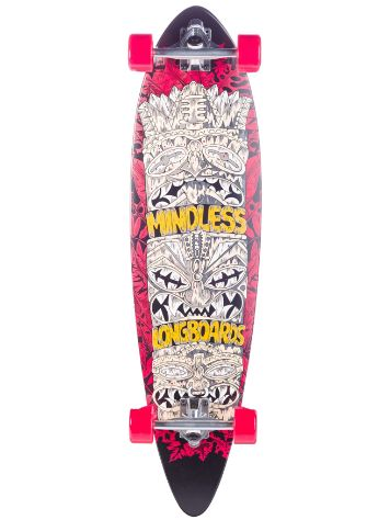 "Mindless Longboards Tribal Rogue IV 9.75"" Completo"
