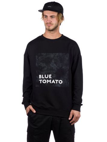 Blue Tomato BT Tie Dye Crewneck Sweater