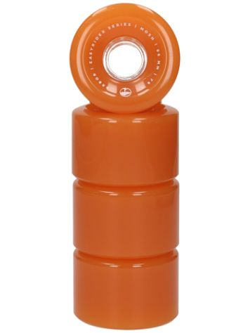 Arbor Mosh 65mm 78A Ghost Orange Wheels