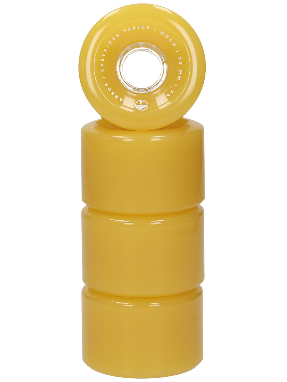 Mosh 65mm 78A Ghost Yellow Wheels