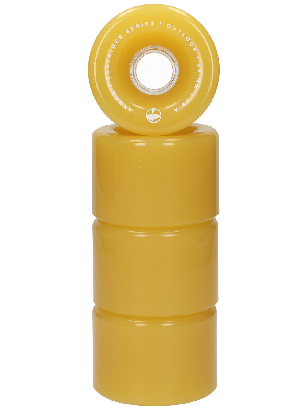 Outlook 69mm 78A Ghost Yellow Wheels