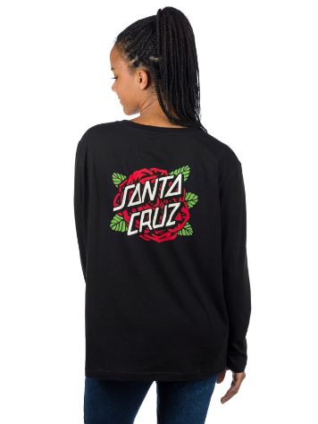 Santa Cruz Rose Dot T-Shirt LS