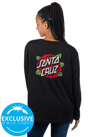Santa Cruz Rose Dot Long Sleeve T-Shirt