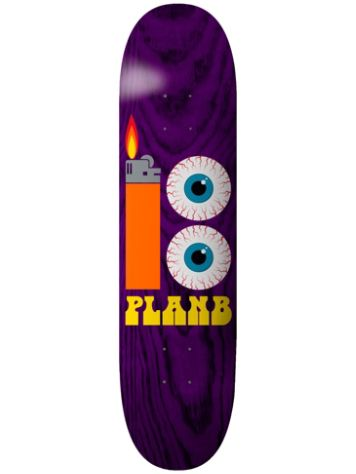 Plan B Team Blood Shot 8.25'' Skateboard Deck