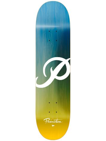 Primitive Classic Gradient Blue Yellow 8.25'' Skateboa