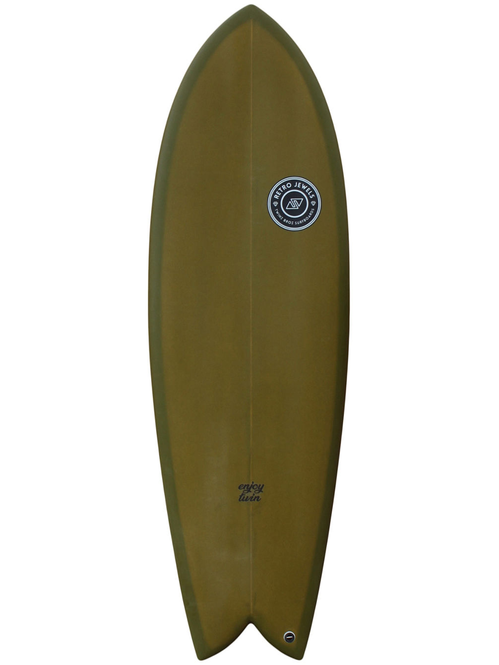 Enjoy Twin FCS2 6'0 Surfboard