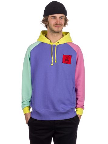 Teddy Fresh Color Block Pulover s Kapuco