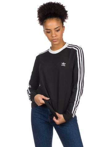 adidas Originals 3 Stripe Long Sleeve T-Shirt