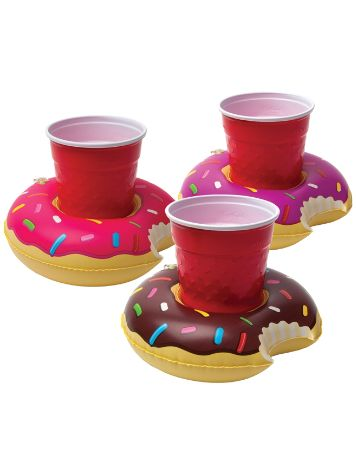 Big Mouth Toys Frosted Donuts Beverage Boats 3Pk