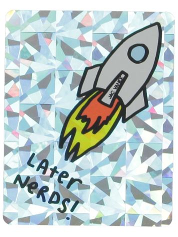 Jac Vanek Later Nerds Sticker