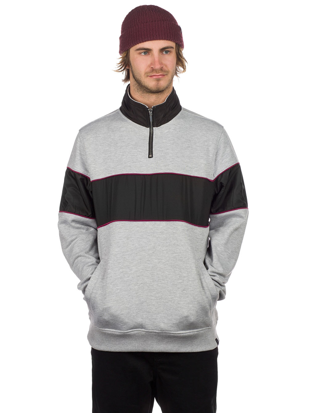 Refresh Half Zip Sweater