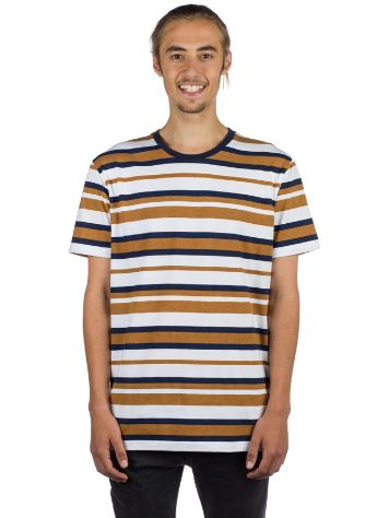 Cleptomanicx Multi Stripe 2 T-Shirt