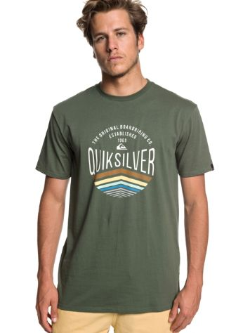 Quiksilver Sunset Logo T-Shirt