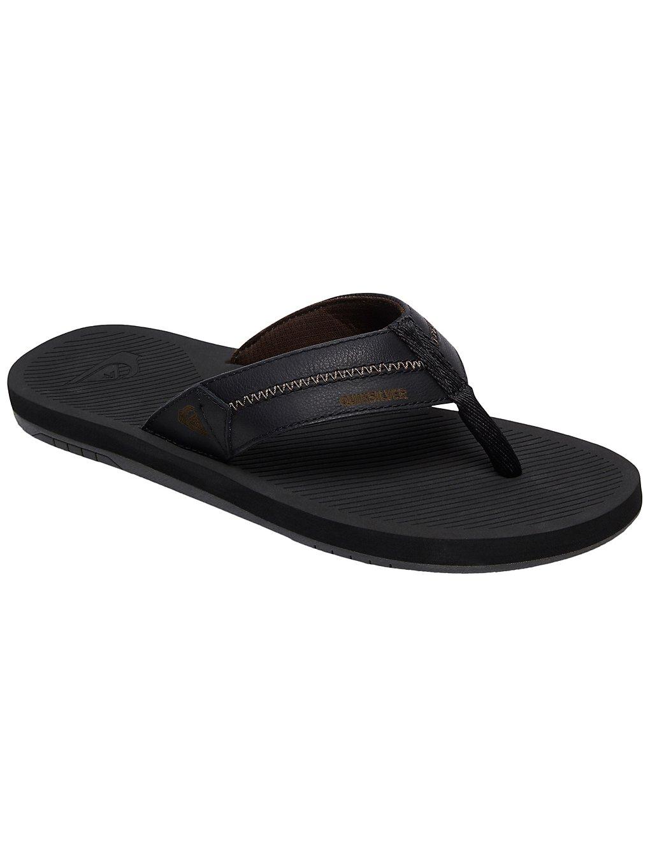 quiksilver coastal oasis deluxe sandals grey