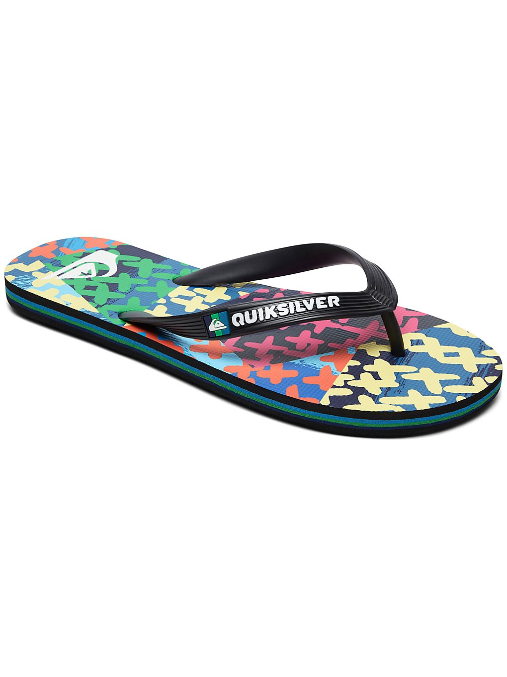 Image of Quiksilver Molokai Variable Volley Sandals blu