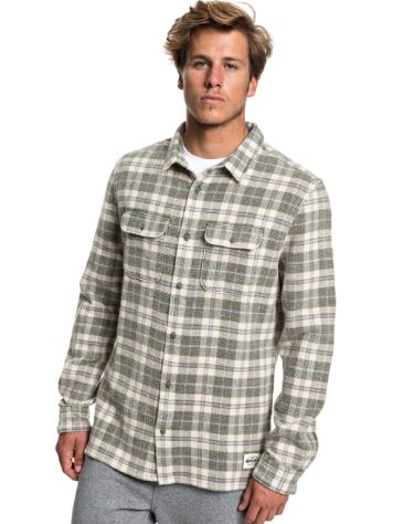 Quiksilver Strutten Blues Shirt LS