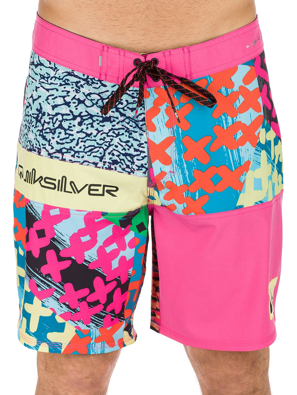 357b0b9854 Buy Quiksilver Highline More Paint 18'' Boardshorts online at Blue ...