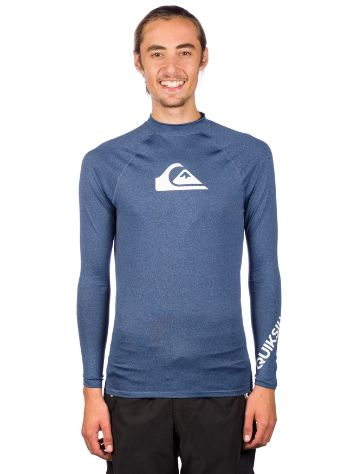 Quiksilver All Time Rash Guard Lycra LS Lycra
