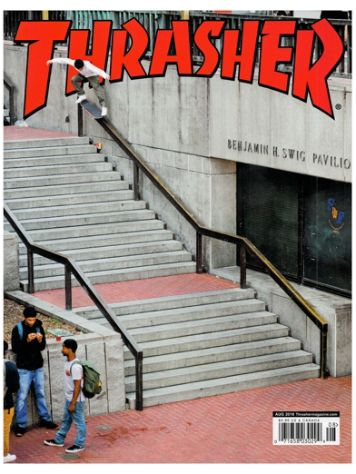 Thrasher Thrasher Issues August 2018