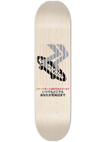 Toy Machine Poster 8.375'' Skateboard Deck
