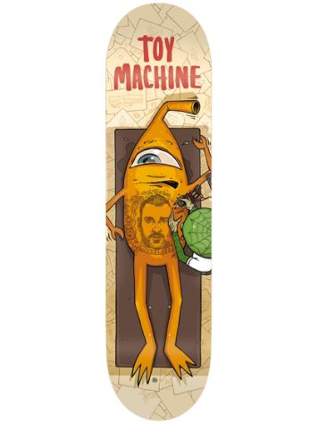 "Toy Machine Overlord 8.375"" Skateboard Deck"