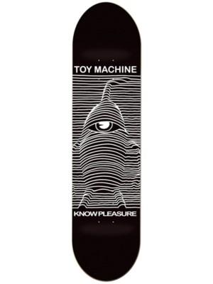 Toy Machine Toy Division 8.5'' Skateboard Deck black Gr. Uni
