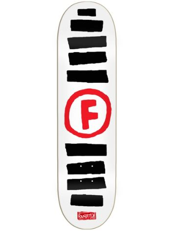 Foundation Doodle Stripe 8.5'' Skateboard Deck
