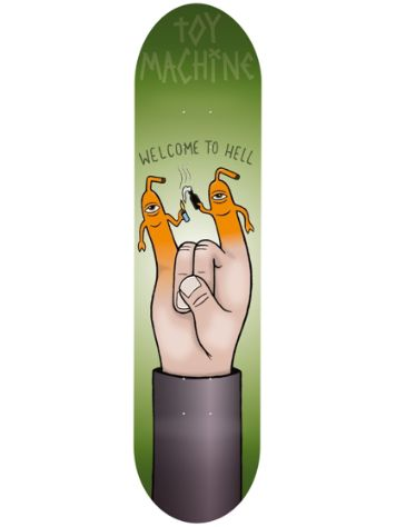 Toy Machine Finger Puppet 8.25'' Skateboard Deck
