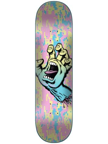 Santa Cruz Screaming Hand Camo Wide Tip 8'' Deck