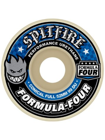 Spitfire Formular Four 99du 56mm Conical Full Wheels