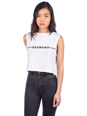 Element Line Logo Crop Tank Top
