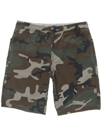 Element Pull Up Ripstop Camo Shorts