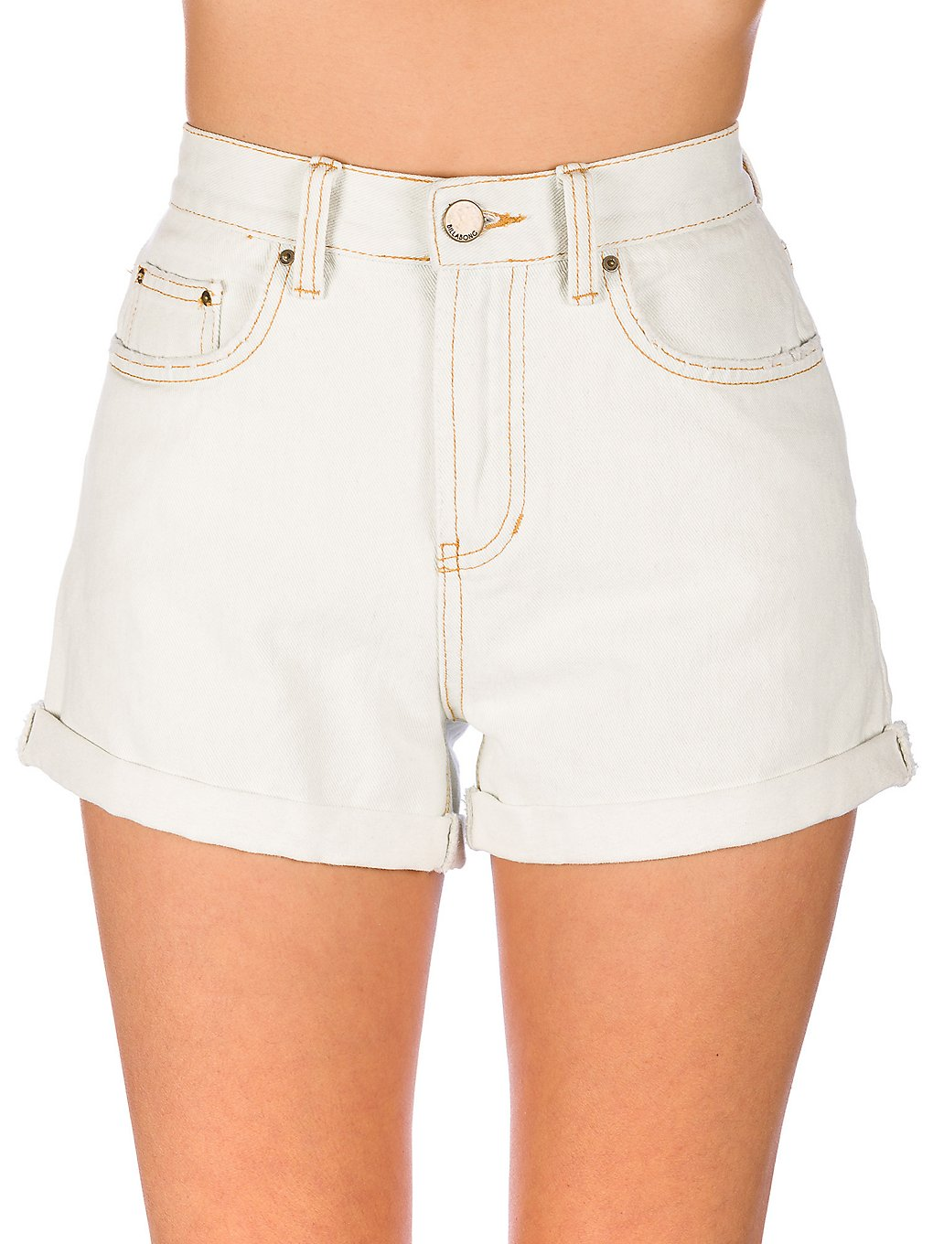 Billabong High Tide Denim Shorts acid blue