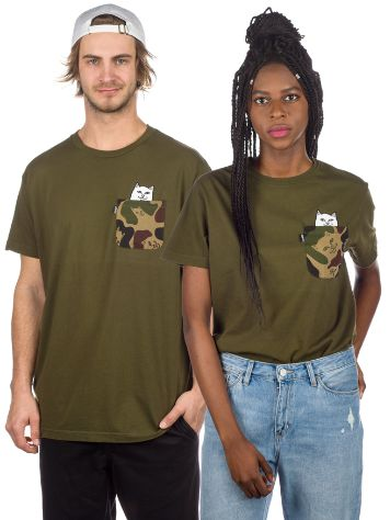 Rip N Dip Lord Nermal Camo Pocket T-Shirt