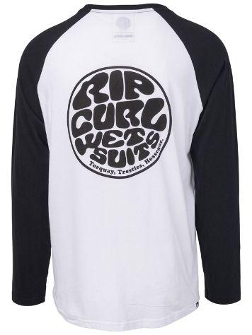 6d91472194 17.22  Rip Curl Original Raglan Long Sleeve T-Shirt