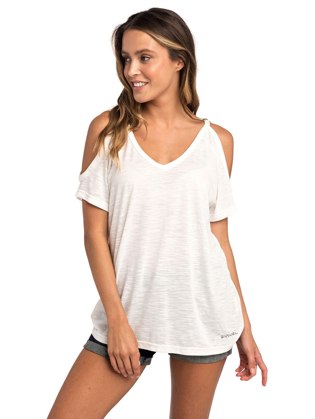 Salty Cold Shoulder T-Shirt