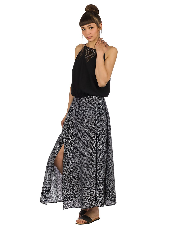 Rip Curl Coast Infusion Maxi Dress black