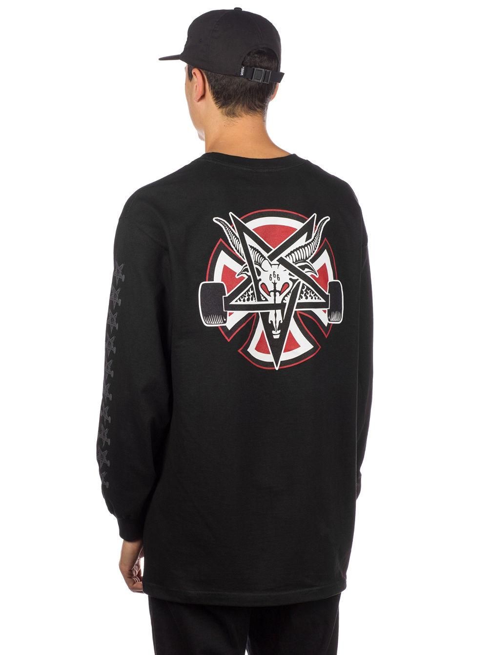 39510ece Buy Independent X Thrasher Pentagram Cross Long Sleeve T online at ...