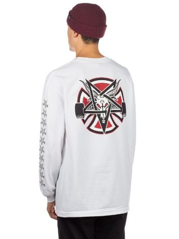 Independent X Thrasher Pentagram Cross Long Sleeve T