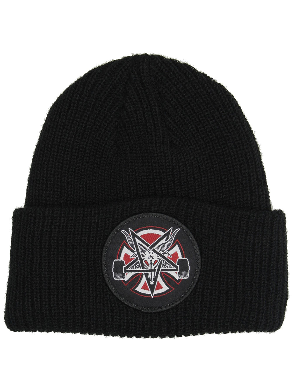X Thrasher Pentagram Cross Beanie