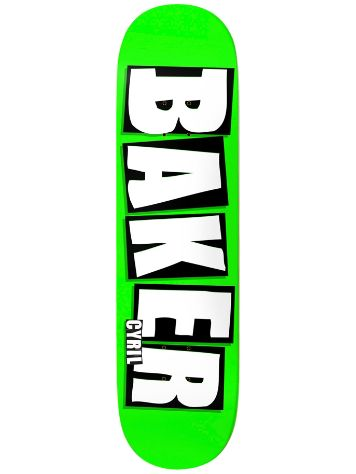Baker Cyril Brand Name 8.25'' Skateboard Deck