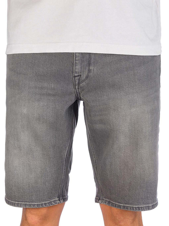 Volcom Solver Denim Shorts grey vintage